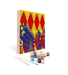 Paint by Number Art Kit--Bet the Diamond Mini Kit,03-0808 8X8