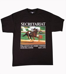 Secretariat Derby Call Tee