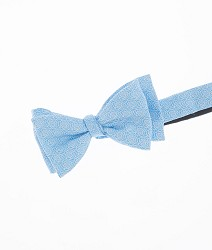 Vineyard Vines Geometric Rose Bowtie Light Blue One Size