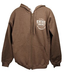 The Bluegrass State Full Zip Hooded Sweatshirt,GI18700TWD