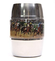 Kentucky Derby Icon Stainless Barrel Mug,OP33001