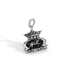 Triple Crown Logo Charm by Darren K. Moore,402-15