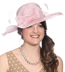 The Bow Hat,55DERBY-PINK