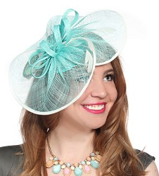 The Loops and Swirls Fascinator