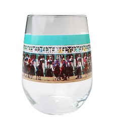 Starting Gate Stemless Wine Glass