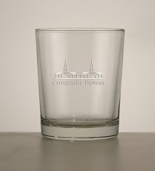 Grandstand Etched Tavern Whiskey Tumbler