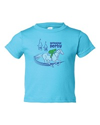 Horse & Spires Kentucky Derby Toddler Tee,6KTTC