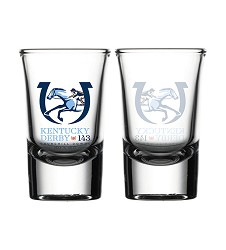 Kentucky Derby 143 Official Logo Shot Glass