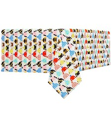 Triple Crown Silks Tablecloth by Pomegranate