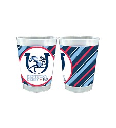 Kentucky Derby 143 Frosted Cup Pack,43425 10OZ PACK CUPS