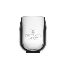 Kentucky Derby Unbreakable Stemless Wine Glass