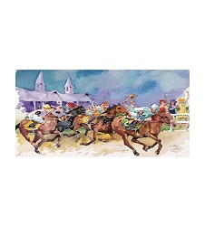 2017 Art of the Derby Postcard,Kentucky Derby 143-Art of the Derby,825452524535