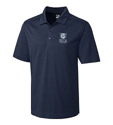 Kentucky Derby 143 Embroidered Chelan Polo Navy Heather Large