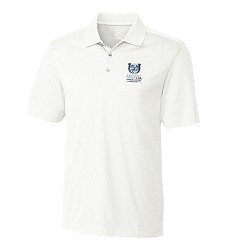 Kentucky Derby 143 Embroidered Glendale Polo,Cutter & Buck,MCK00996WHITE FULL C