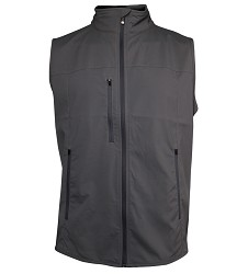 Kentucky Derby 143 Fitchburg Poly Vest,MO01 CHARCOAL143