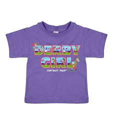 Derby Girl Toddler Tee,3923 PURPLE