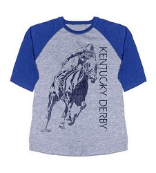 Shadow Jockey Baseball Tee,3496