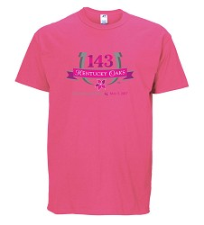 Kentucky Oaks 143 Official Logo Tee,6403MR 1111-56