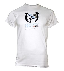 Kentucky Derby 143 Official Logo Tee
