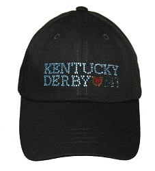 Ladies' Kentucky Derby 143 Bling Cap