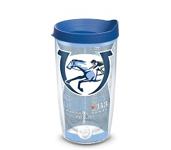 Kentucky Derby 143 Full Wrap Tumbler with Lid