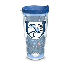 Kentucky Derby 143 Full Wrap Tumbler with Lid,1254905