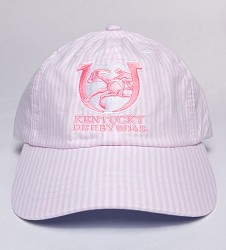 Kentucky Derby 143 Oxford Stripe Cap