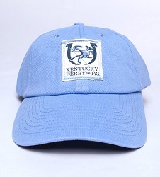 Kentucky Derby 143 Pique Cap Blue