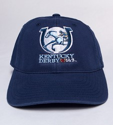 Kentucky Derby 143 Flexfit Cap Navy S/M