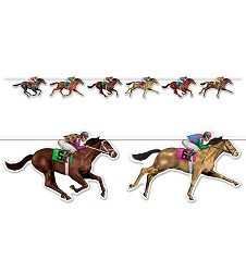 "Race Horse Streamers 10.5""x6'"