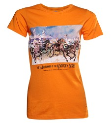 2017 Art of the Derby Ladies Tee
