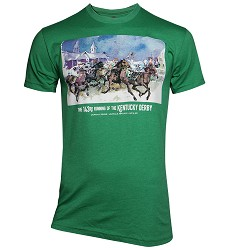 2017 Art of the Derby Tee,Kentucky Derby 143-Art of the Derby,60/40