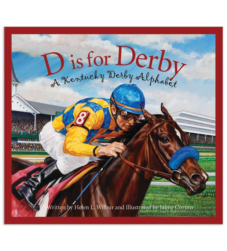 """D is for Derby"" by Helen Wilbur,9781585368136"