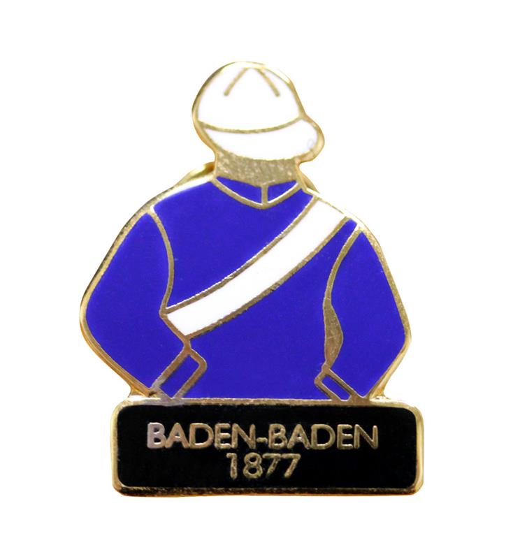 1877 Baden-Baden Tac Pin,1877
