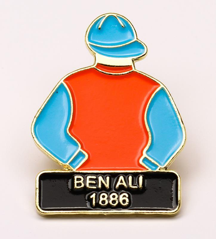 1886 Ben Ali Tac Pin,1886