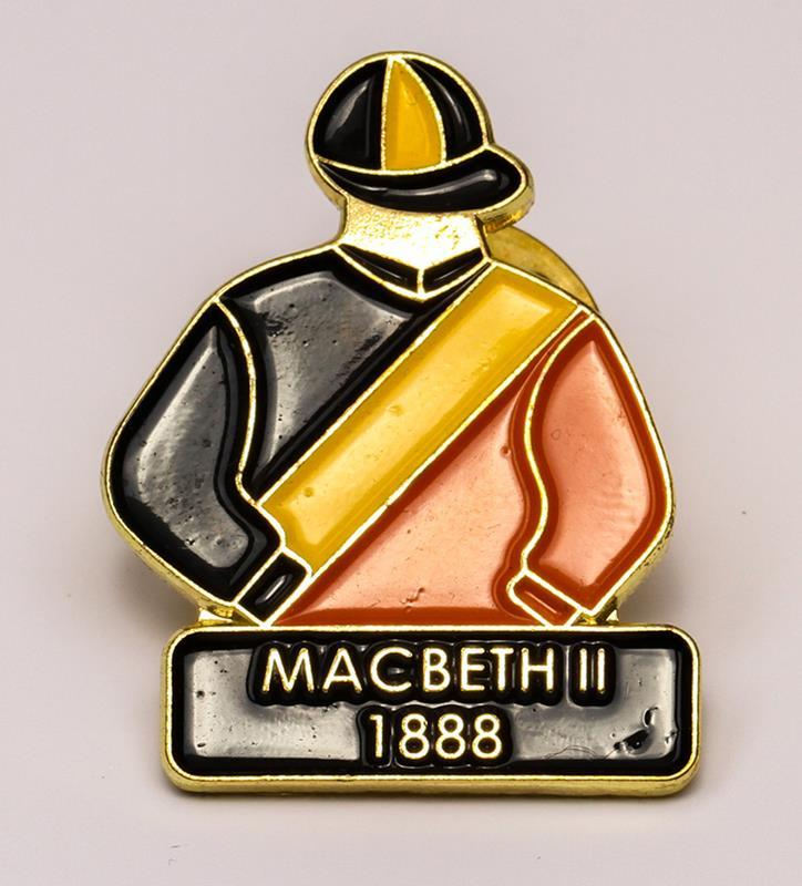 1888 Macbeth II Tac Pin,1888