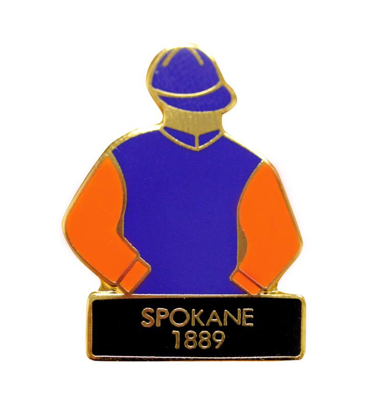 1889 Spokane Tac Pin,1889