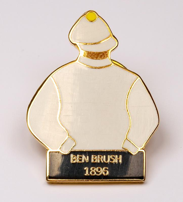 1896 Ben Brush Tac Pin,1896