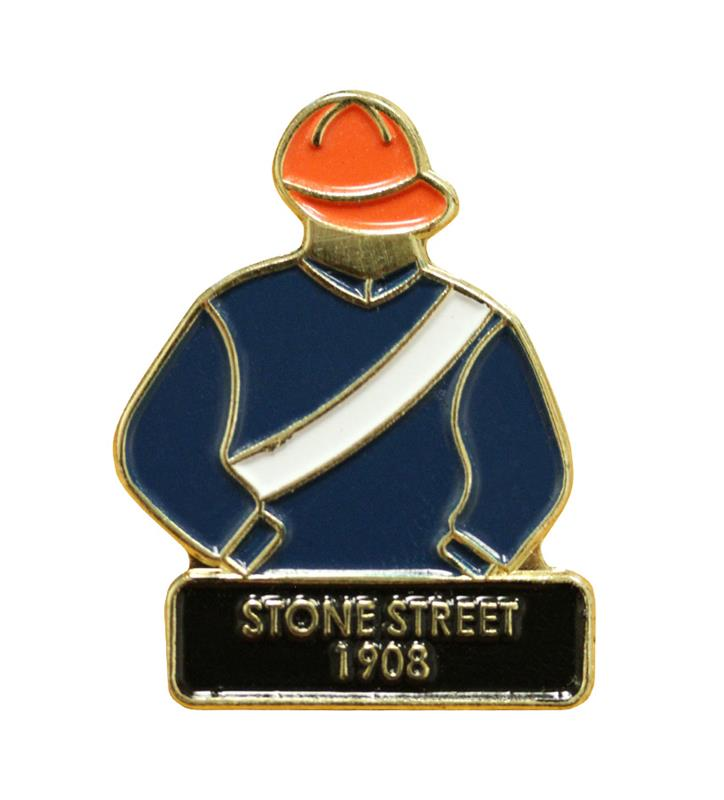 1908 Stone Street Tac Pin,1908