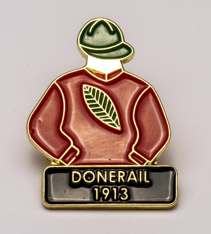 1913 Donerail Tac Pin,1913