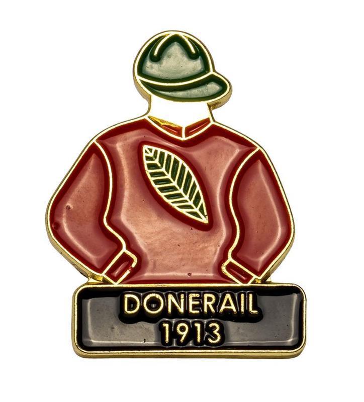 1913 Donerail Tac Pin,1913