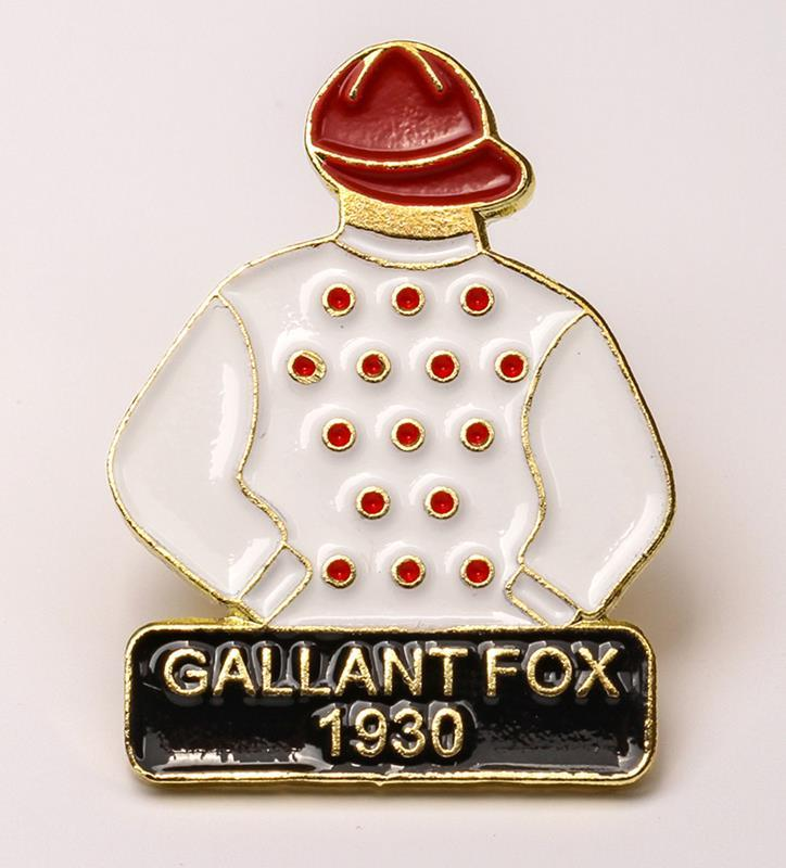 1930 Gallant Fox Tac Pin,1930