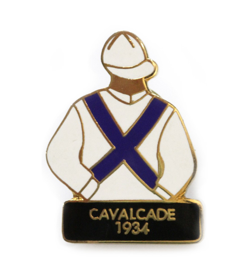1934 Cavalcade Tac Pin,1934