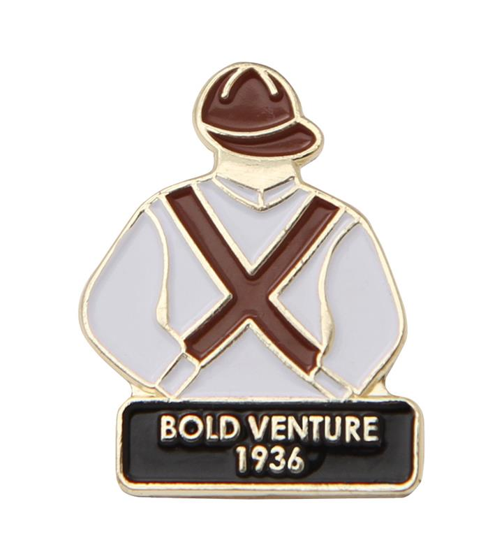 1936 Bold Venture Tac Pin,1936
