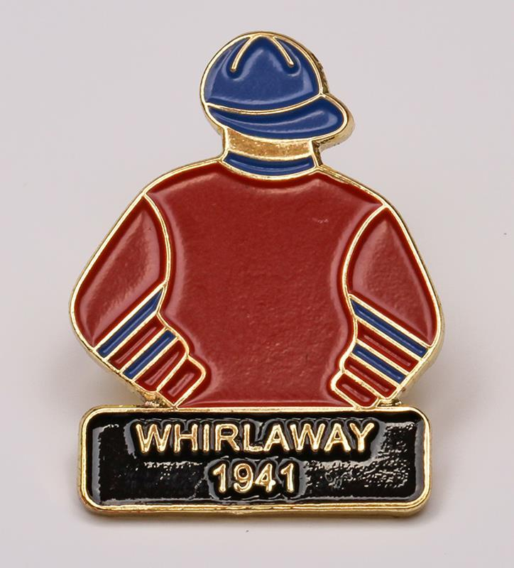 1941 Whirlaway Tac Pin,1941