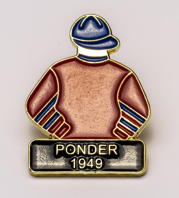 1949 Ponder Tac Pin,1949