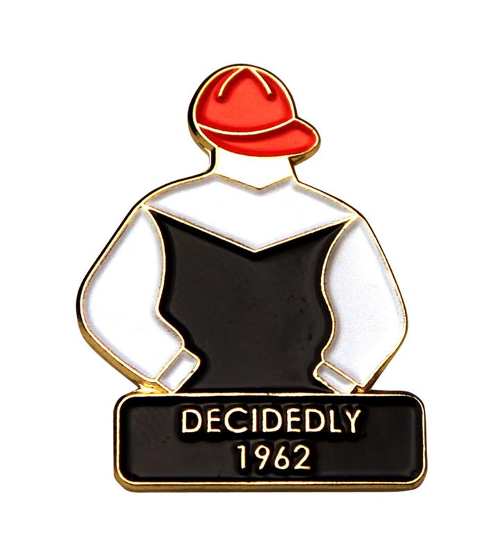 1962 Decidedly Tac Pin,1962