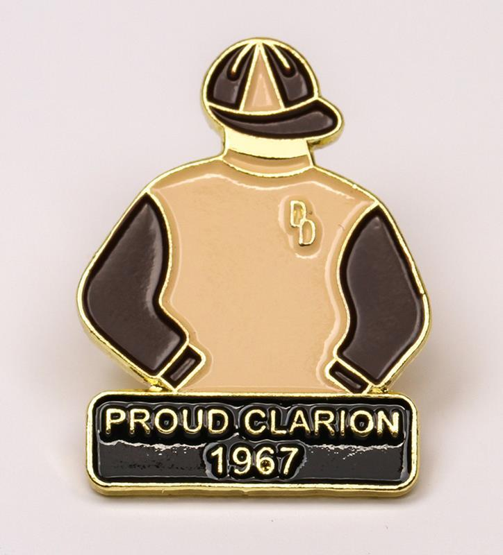 1967 Proud Clarion Tac Pin,1967