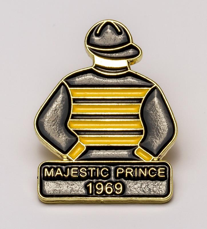 1969 Majestic Prince Tac Pin,1969