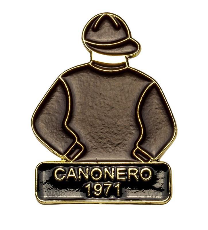 1971 Canonero II Tac Pin,1971